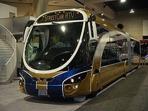 Wright StreetCar - Las Vegas RTC Transit Wrightbus Streetcar