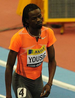 Athletics at the 2011 Pan Arab Games - Rabah Yousif of Sudan won individual and relay medals over 400 m.