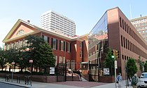 Race Street Meetinghouse and Visitors Center from Cherry Street.jpg