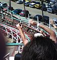 Racing down Giant Dipper at Belmont Park.jpg