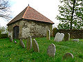 Radenín - židovský hřbitov 05 morgue.jpg