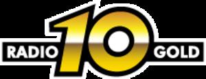 Radio 10 (Netherlands) - Radio 10's old logo as Radio 10 Gold