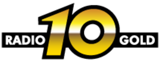 Radio 10 (Netherlands) - Radio 10's old logo as Radio 10 Gold