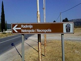 Radimlja - Image: Radmilja 2