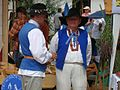 Raft sailors from Ulanow in traditional costumes 02.JPG