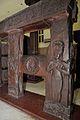 Railing - 2nd Century BCE - Red Sand Stone - Bharhut Stupa - Madhya Pradesh - Indian Museum - Kolkata 2012-11-16 1854.JPG