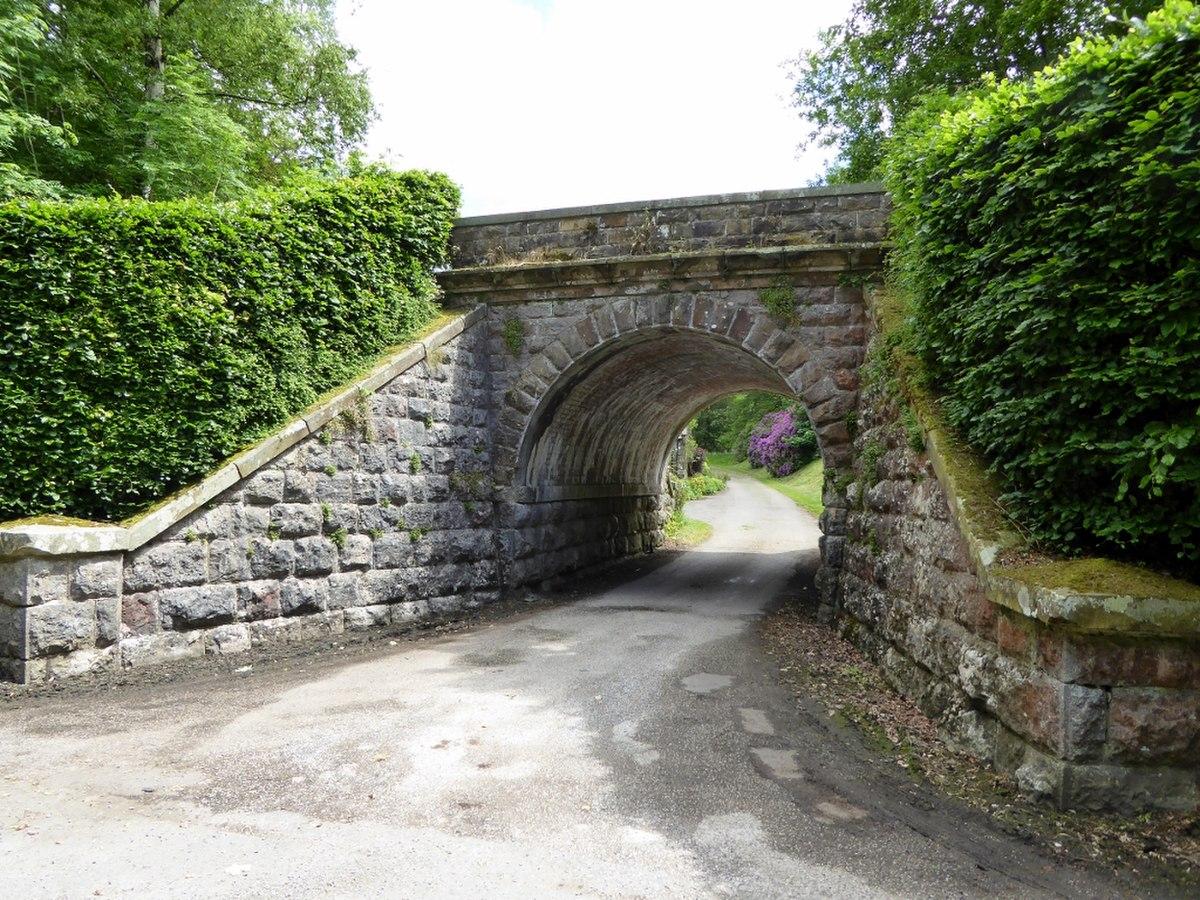 Railway bridge at entrance to Whelprigg Estate.jpg