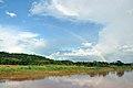 Rainbow over Wa River.JPG