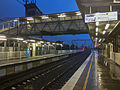 Rainy evening at Engadine Station 03.jpg