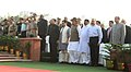 Rajnath Singh, the Minister of State for Home Affairs, Shri Kiren Rijiju, the Minister of State for Science & Technology (IC), Earth Sciences (IC), Prime Minister Office, Personnel, Public Grievances & Pensions.jpg