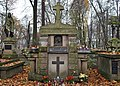 Rakowicki Cemetery, grave of Helena Modjeska (Polish actress), 26 Rakowicka street, Kraków, Poland.jpg