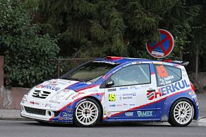 Rally Bohemia 2011 - Pondělíček - Citroen C2 S1600.jpg