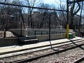 Ramps to Riverway at Longwood station, March 2016.JPG