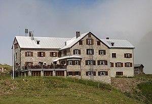 Rappensee Hut - Image: Rappenseehütte 180806