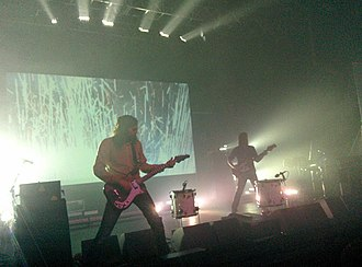 Ratatat - Ratatat at the Fox Theater in Pomona, promoting Magnifique, on April 15, 2015.