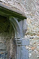 Rathmullan Priory South Transept Piscina Right Jamb 2009 09 25.jpg