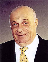 Rauf Denktaş, first President of Northern Cyprus (1983-2005).