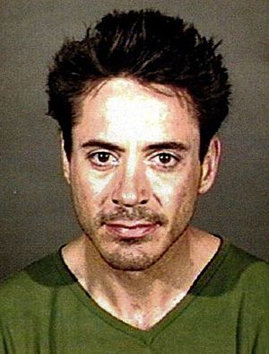 Actor Robert Downey Jr. photographed by the Ca...