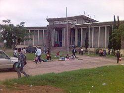 Rectorat de l'Université de Kinshasa.