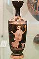 Red-figure lekythos, woman, mirror, Athens 470-460 BC, Prague, NM H10 774, 152185.jpg