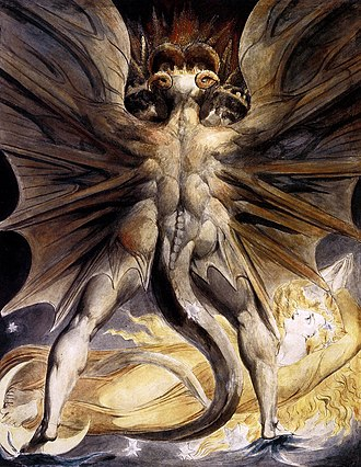 Francis Dolarhyde - The Great Red Dragon and the Woman Clothed in Sun – the painting with which Dolarhyde is obsessed.