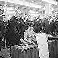 Rekeninstallatie in gebruik op Technische Hogeschool te Delft door Zijne Excelle, Bestanddeelnr 915-9511.jpg
