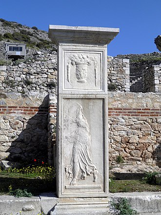 Philippi - Relief decorations by Philip II (4th BC)