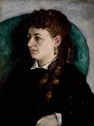 Lise Tréhot - Image: Renoir Portrait de Clémence Tréhot
