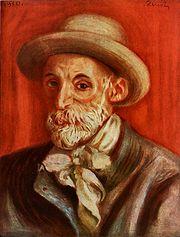 autoportrét z roku 1910
