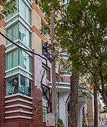 Reparación eléctrica, Ciudad Ho Chi Minh, Vietnam, 2013-08-14, DD 01.JPG