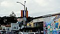 Restaurant and street rainbow flags in The Castro (0044).jpg
