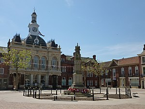 Retford - Image: Retford Town Hall, May 2012