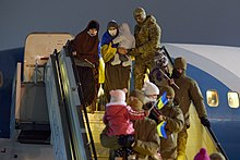 Returning of Ukrainian women and children from Syrian refugee camp 01.jpg