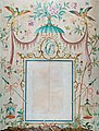 Rex Whistler - Wallpaper in the Chinoiserie Style, with a Picture Frame as its Central Motif 1932.jpg
