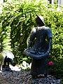 Rheinfelden, Aargau. 1982, Skulpturen Gruppe, Die Rheinfelder Gänse von Peter Lehmann (1921–1995) Bildhauer.jpg