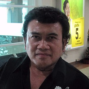 English: A picture of Rhoma Irama