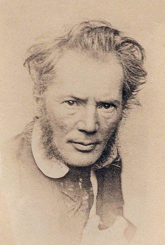 Richard Cockle Lucas - Self-portrait, circa 1858