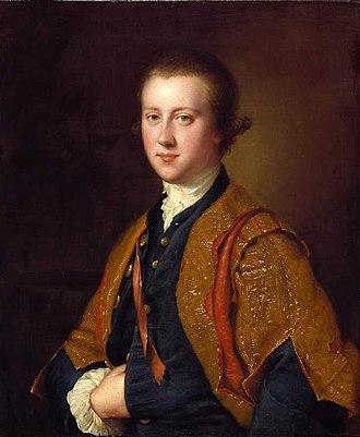 Richard FitzWilliam, 7th Viscount FitzWilliam - Lord FitzWilliam by Joseph Wright of Derby, 1764