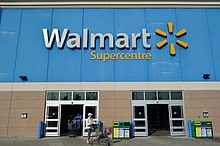 Walmart Supercentre in Richmond Hill, Canada