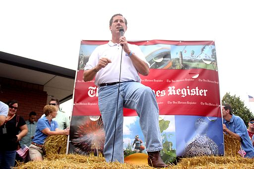 Rick Santorum Iowa State Fair 2011