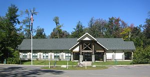 Colley Township, Sullivan County, Pennsylvania - The park office for Ricketts Glen State Park is in Colley Township