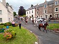 Rideout to Ancrum queues for Canongate Bridge and then to ford the Jed 2019.jpg