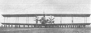 Riesenflugzeug - Siemens-Schuckert R.VIII (1918)