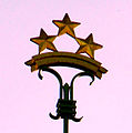 Riga Castle. Five-pointed stars 03.jpg