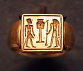 Ring Pharaoh before Hator sign and Horus AF2334 mp3h8729.jpg