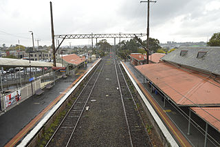 Ringwood railway station, Melbourne railway station in Ringwood, Melbourne, Victoria, Australia