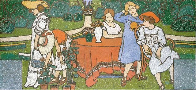 Tableau de József Rippl-Rónai pour la villa Schiffer