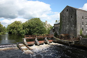 County Roscommon - River Suck at Athleague.