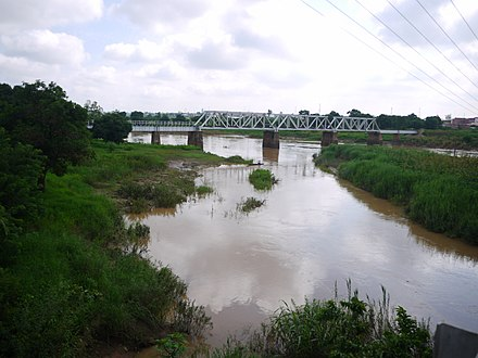 River Kaduna and Old Railway Bridge. River Kaduna and Old Railway Bridge, Another View.jpg