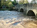 River Teme bridge, Leintwardine - geograph.org.uk - 383582.jpg
